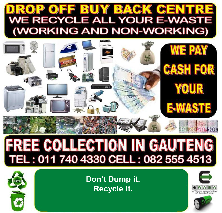 Drop off Buy Back Centre for recycling
